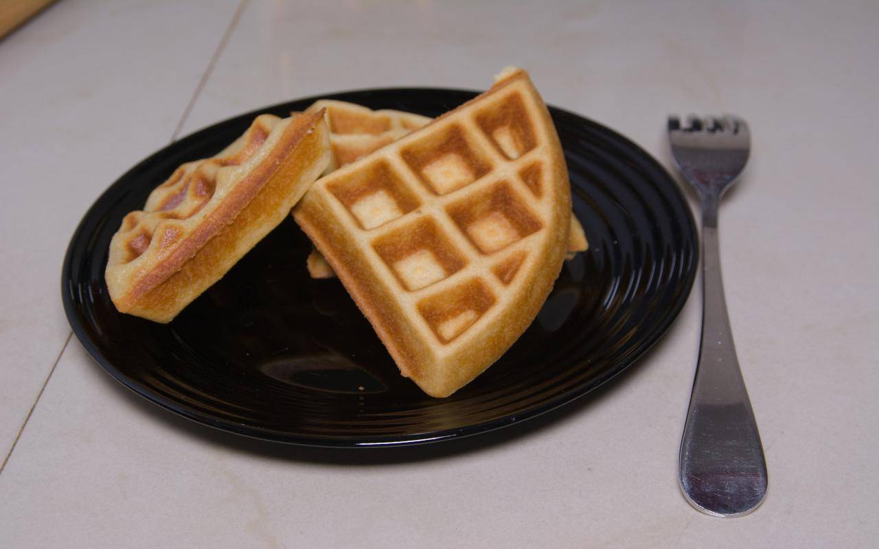 waffel light ricetta FOTO ricettasprint