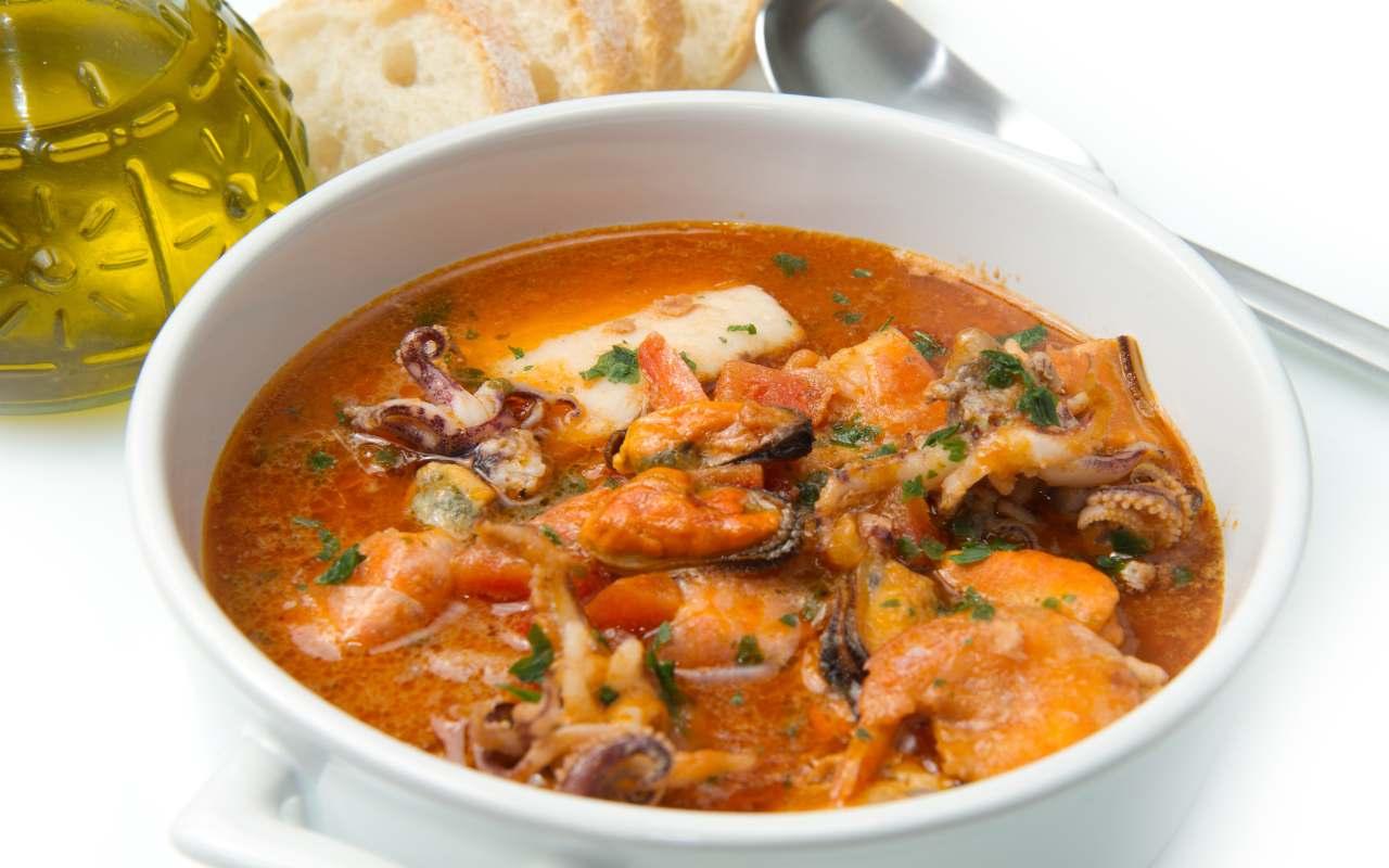 zuppa pesce no spine ricetta FOTO ricettasprint
