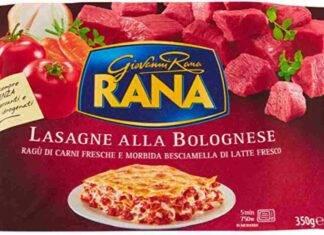 lasagne Giovanni Rana