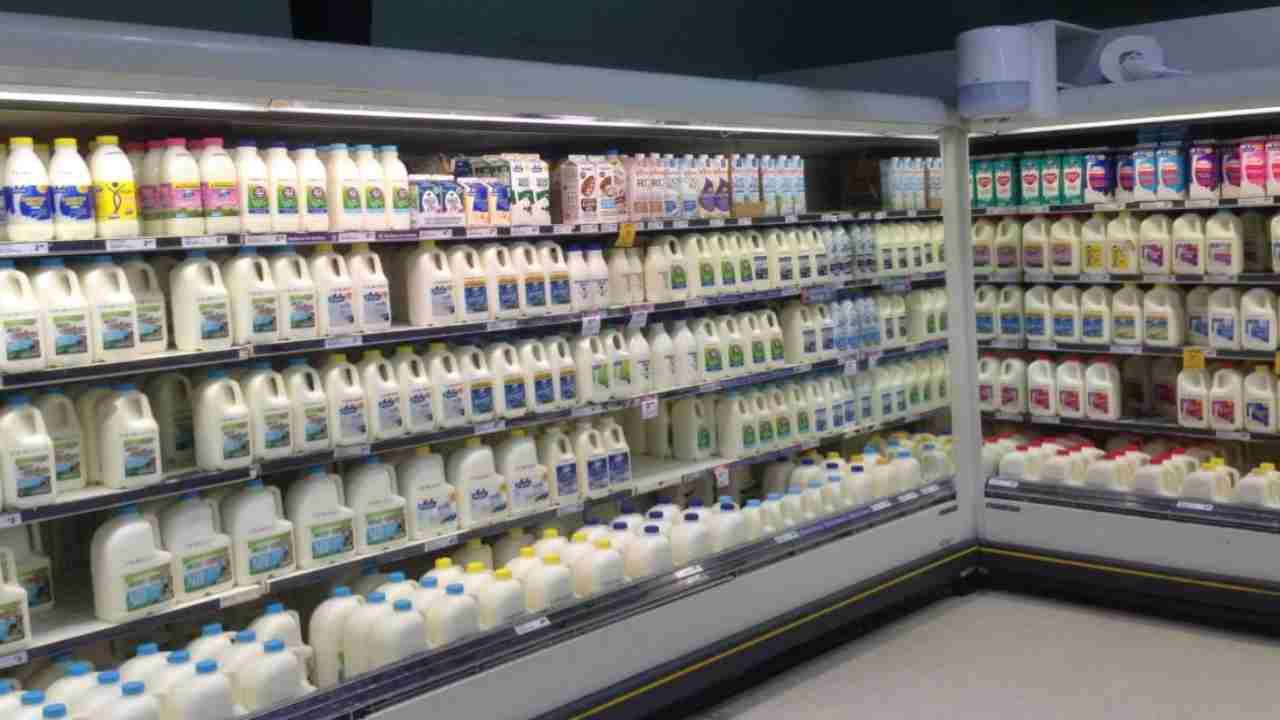 latte crudo richiamo alimentare
