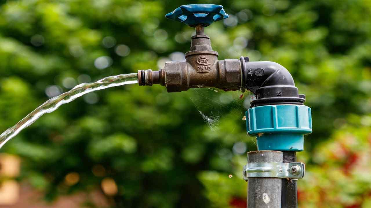spreco di acqua come evitarlo