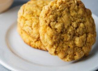 Biscotti con farina di avena e noci ricetta