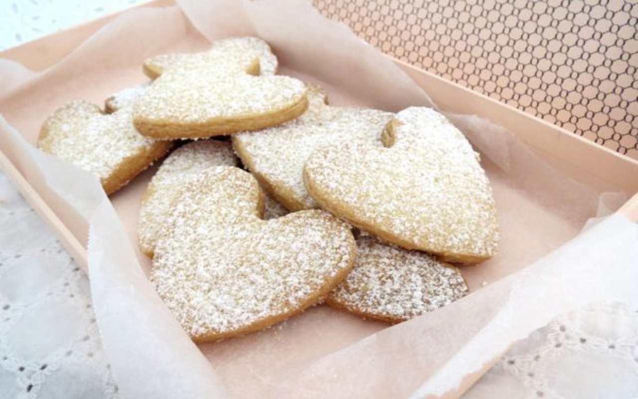 biscotti frolla riso ricetta FOTO ricettasprint