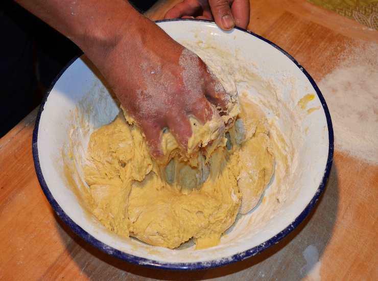 Dessert con mirtilli