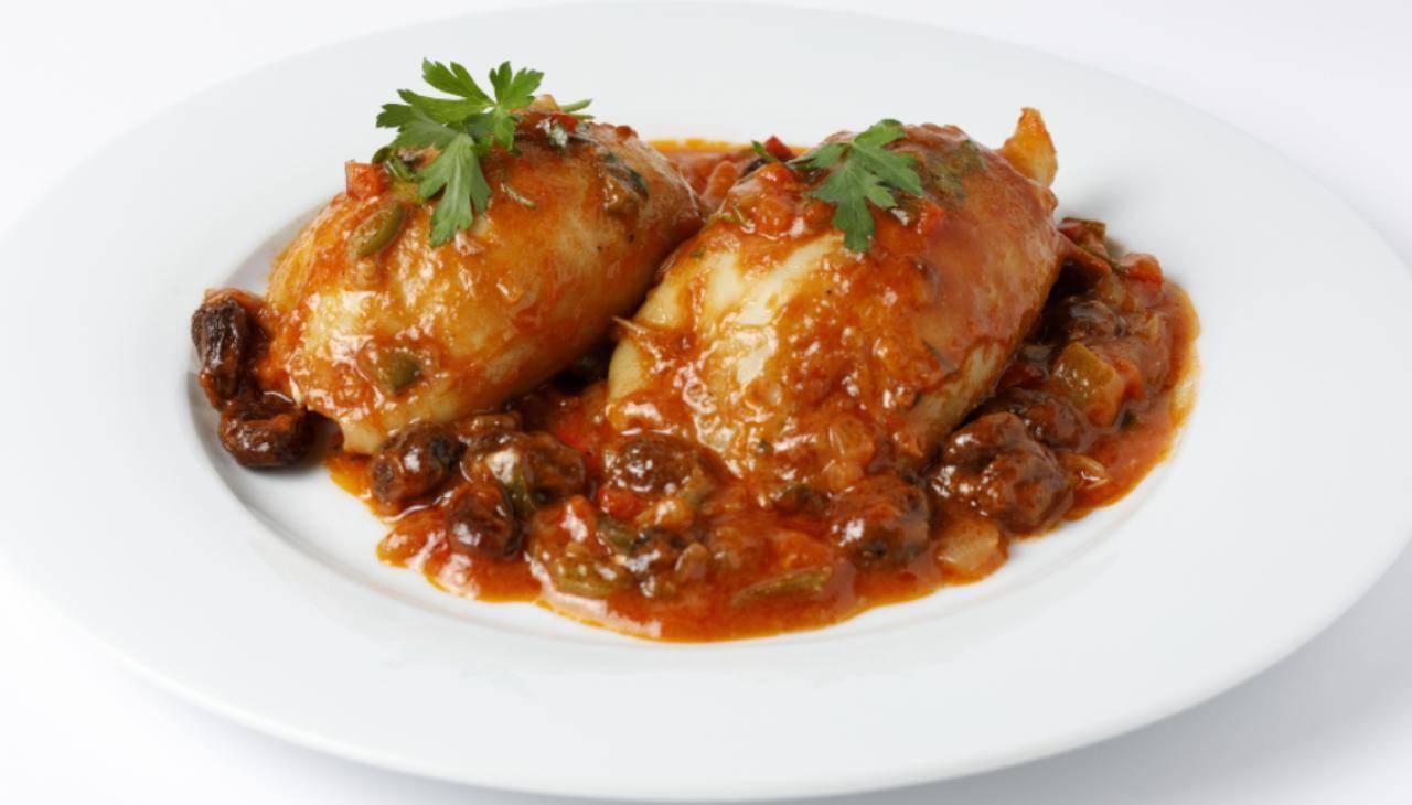 Calamari ripieni alla siciliana ricetta