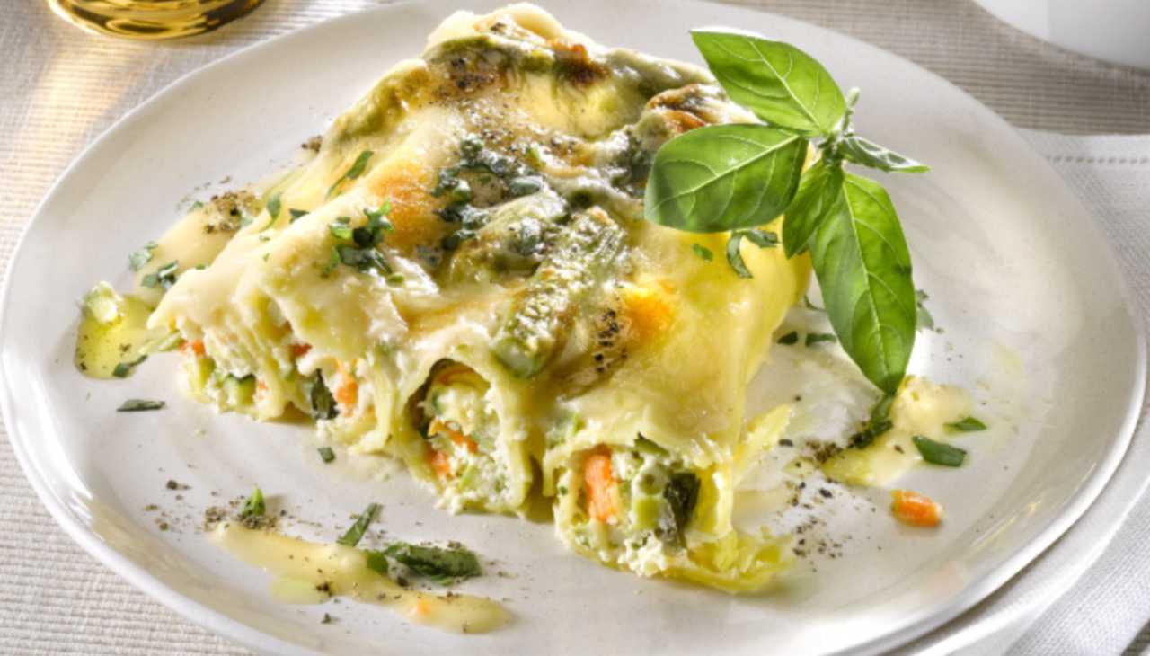 Cannelloni agli asparagi ricetta