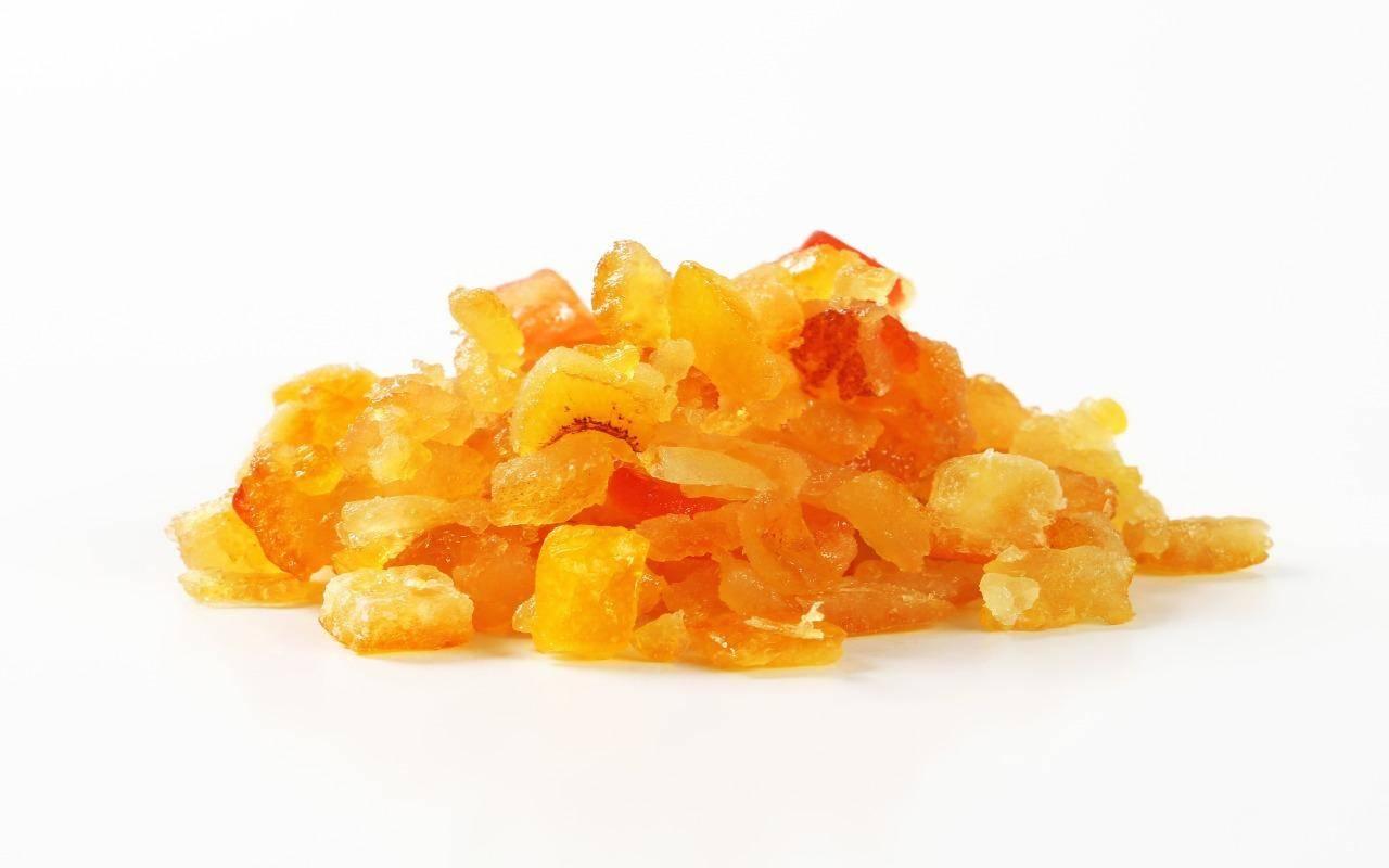 caramelle scorza arancia ricetta FOTO ricettasprint