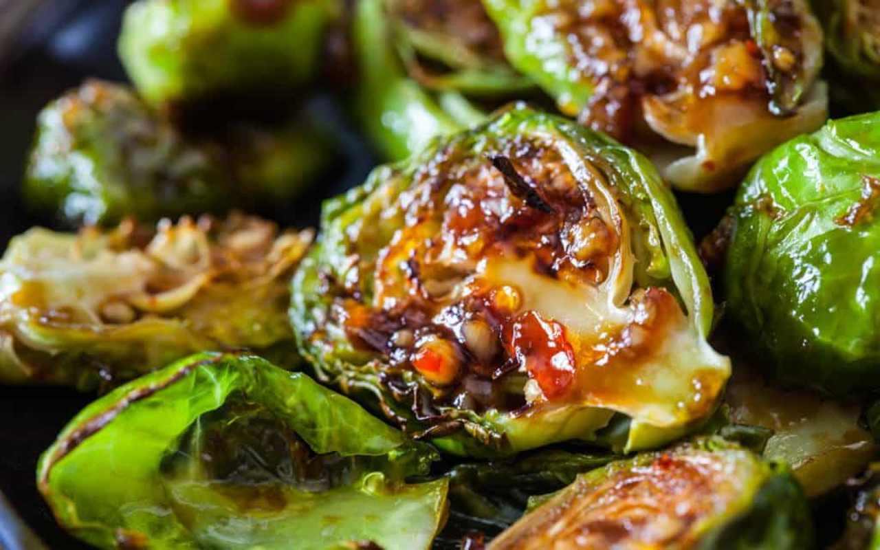 cavoletti salsa soia ricetta FOTO ricettasprint