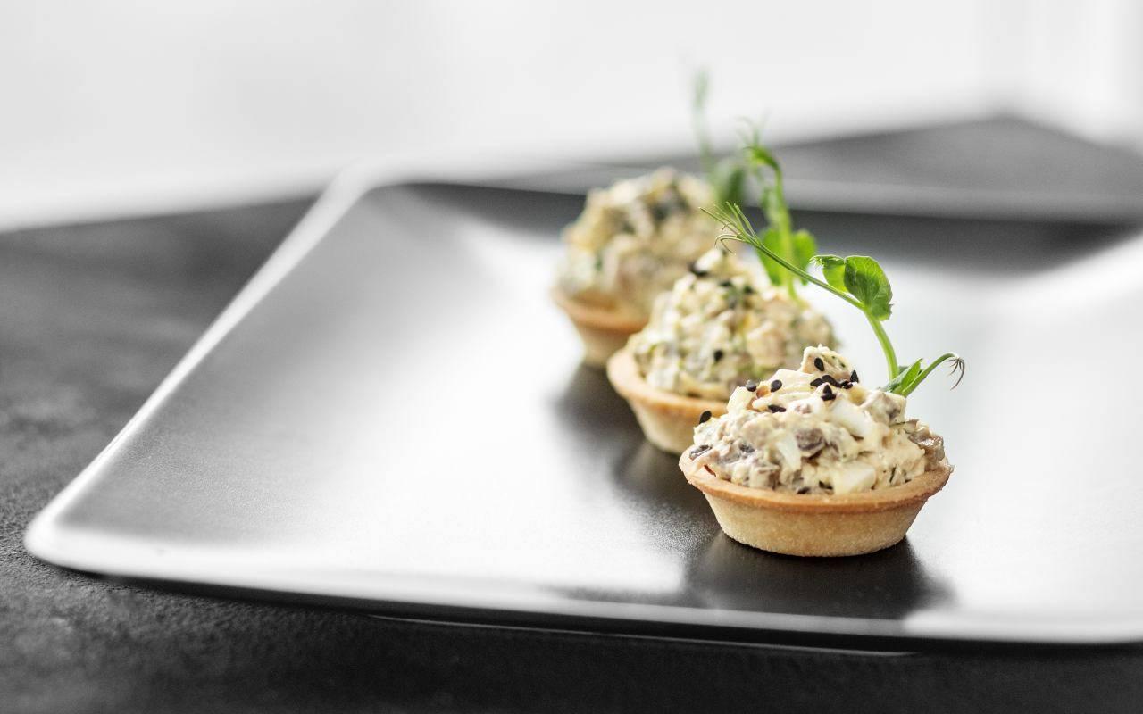 cestini noci parmigiano ricetta FOTO ricettasprint
