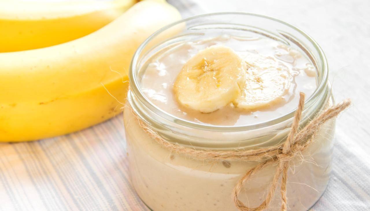Crema alla banana dolce al cucchiaio ricetta