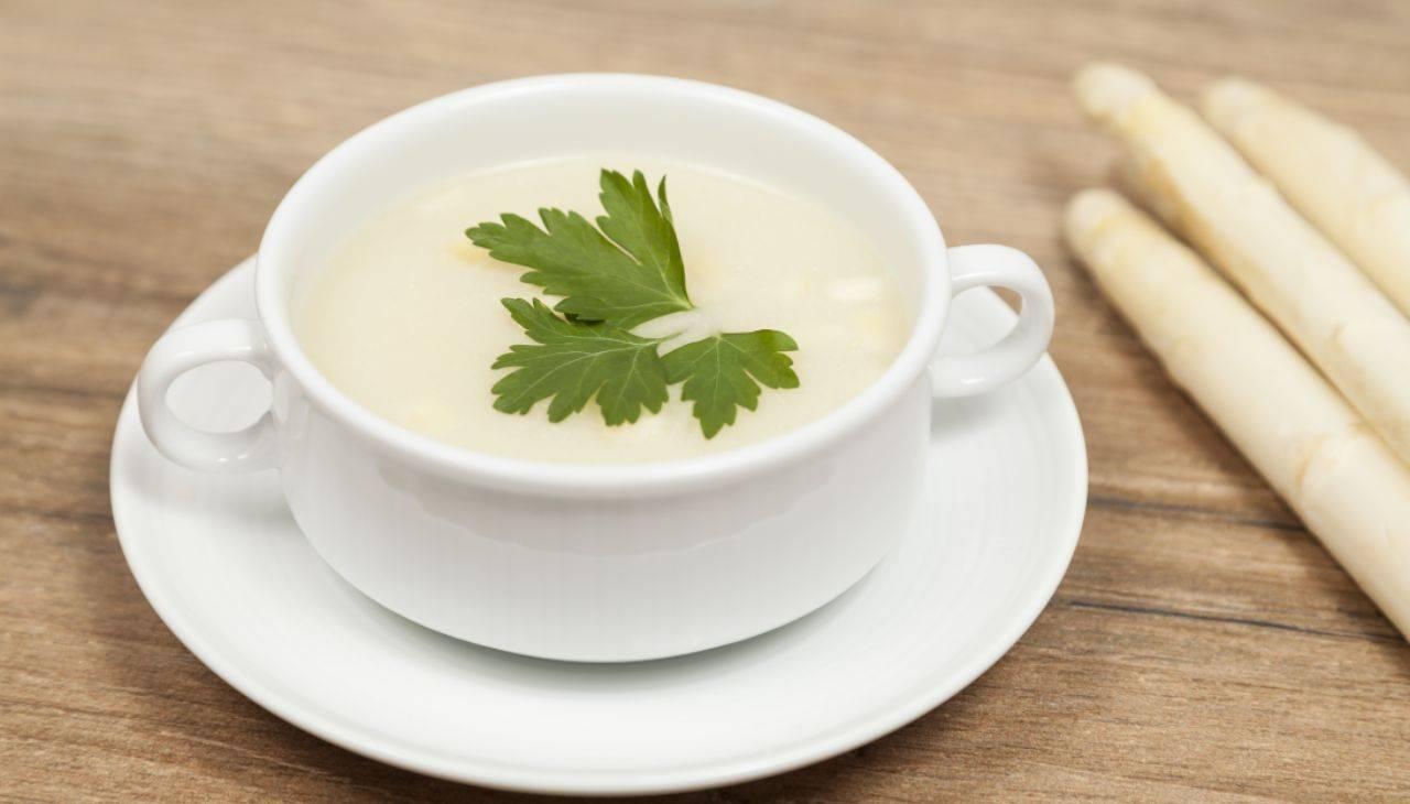 Crema di asparagi bianchi ricetta