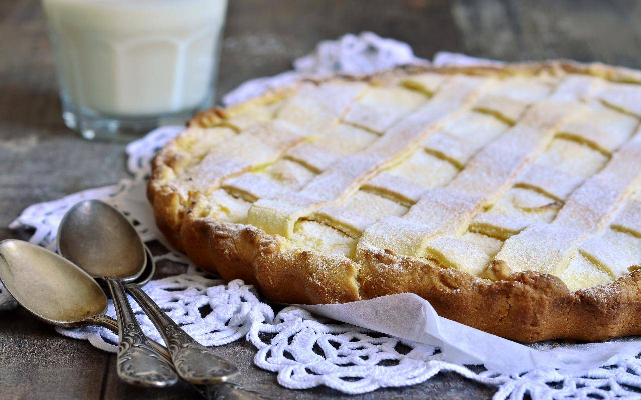 crostata cocco ricotta ricetta FOTO ricettasprint