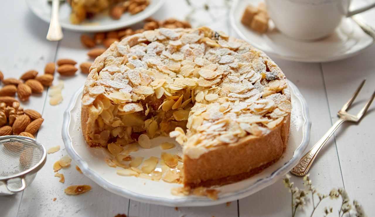 Crostata deliziosa di mele e cioccolato bianco ricettasprint