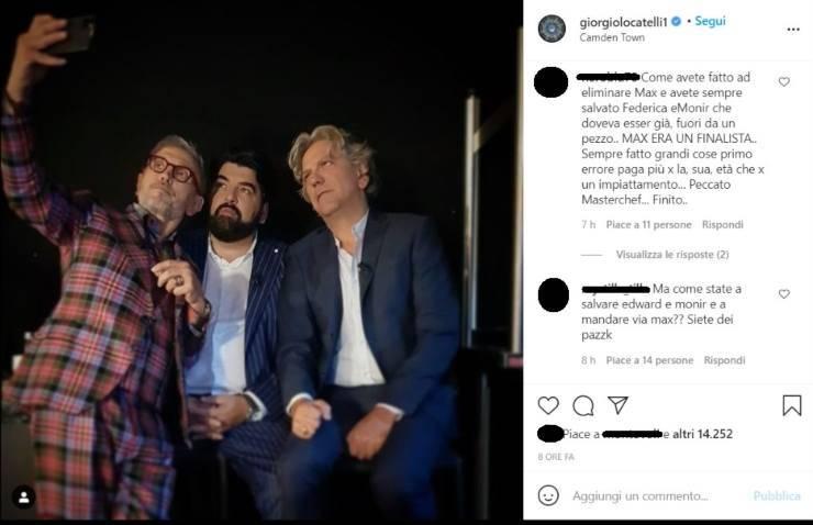 Giorgio Locatelli selfie - RicettaSprint