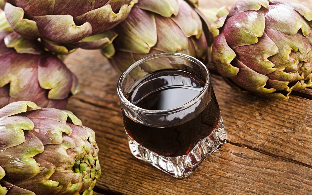 liquore carciofo ricetta FOTO ricettasprint