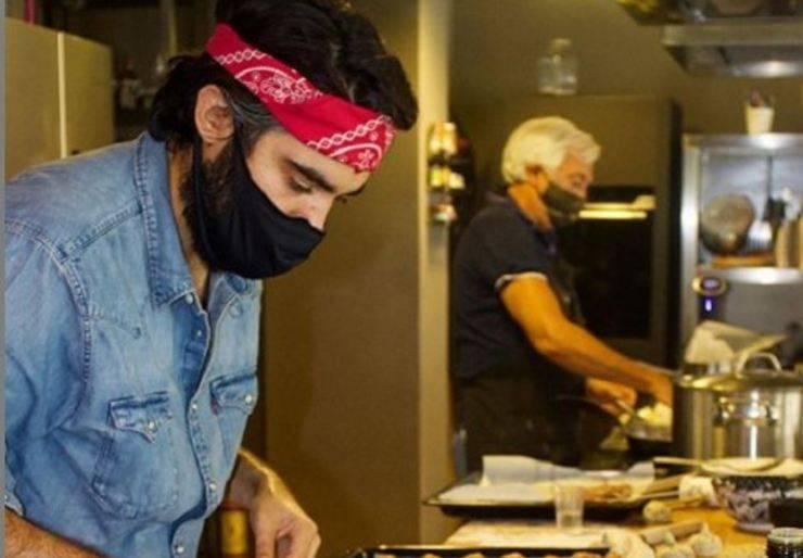 Lorenzo Biagiarelli maccheroncini al fumè di Maciste - RicettaSprint