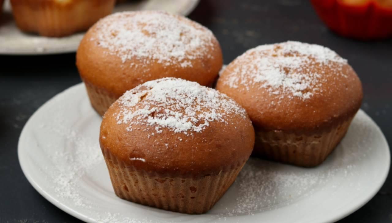 Muffin 8 cucchiai ricetta