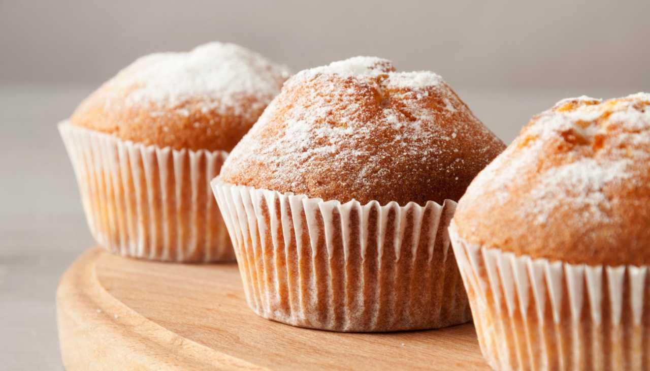 Muffin al latte caldo ricetta