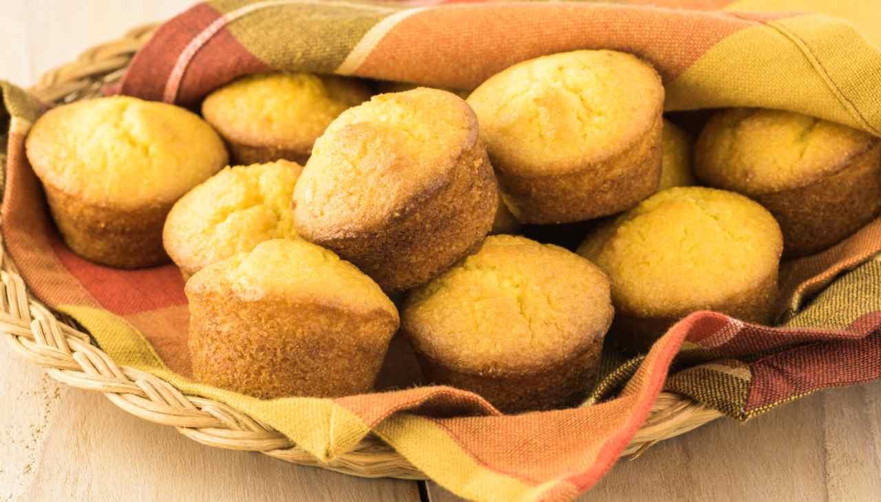 Muffin di mais ricetta
