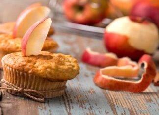 muffin mela yogurt ricetta FOTO ricettasprint