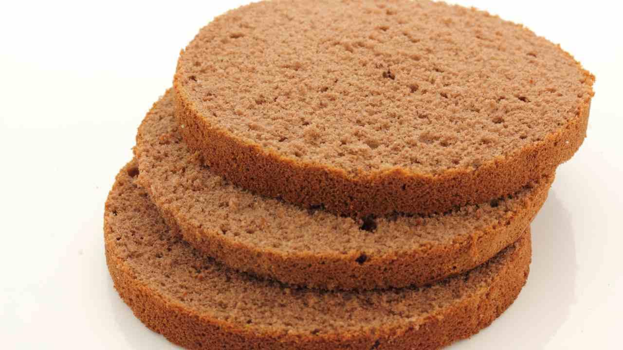 Ricetta Pan Di Spagna Al Cacao Di Benedetta.Pan Di Spagna Al Cacao Ricetta Preparazione Ingredienti
