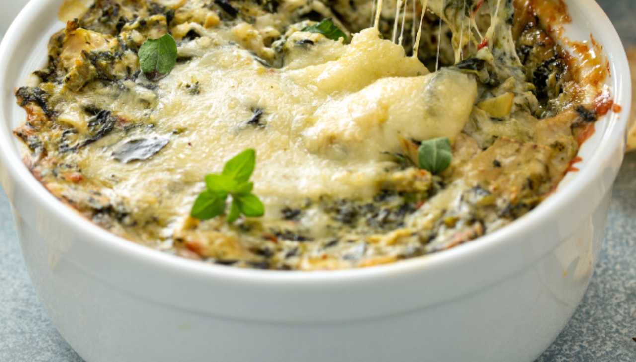 Parmigiana di carciofi ricetta