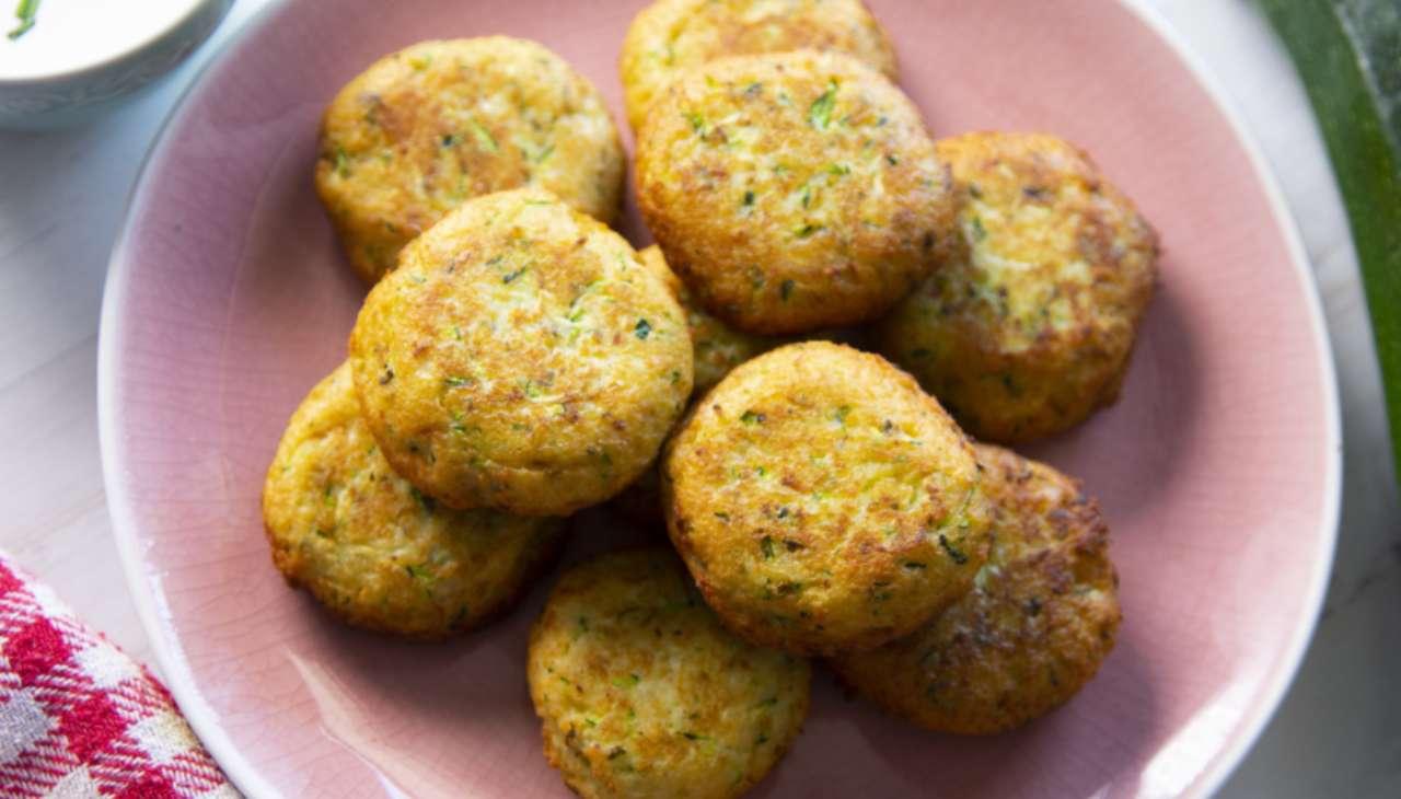 Polpette di pane e zucchine ricetta