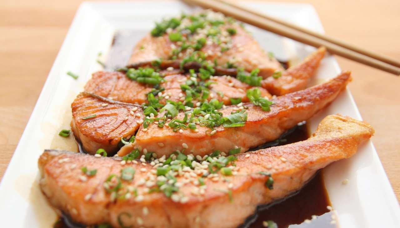 Salmone in salsa teriyaki ricetta