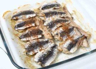 sardine aromi forno ricetta FOTO ricettasprint