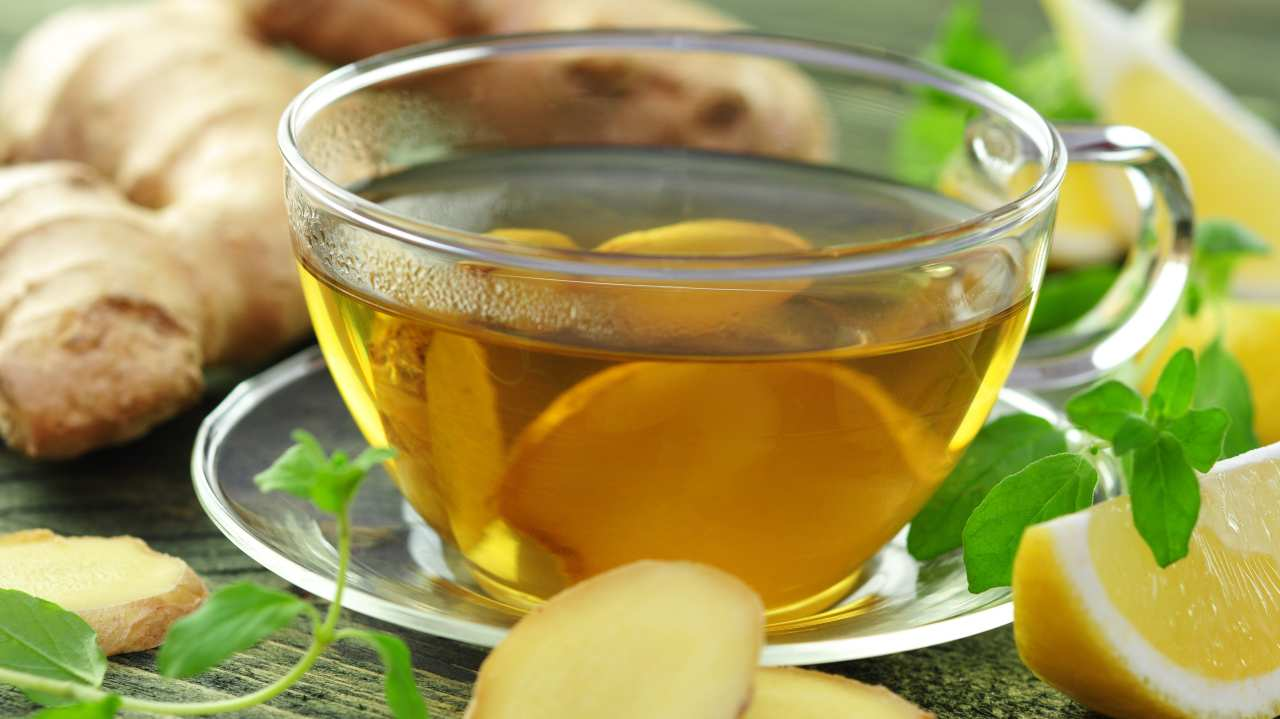 Tisana pompelmo zenzero tè verde