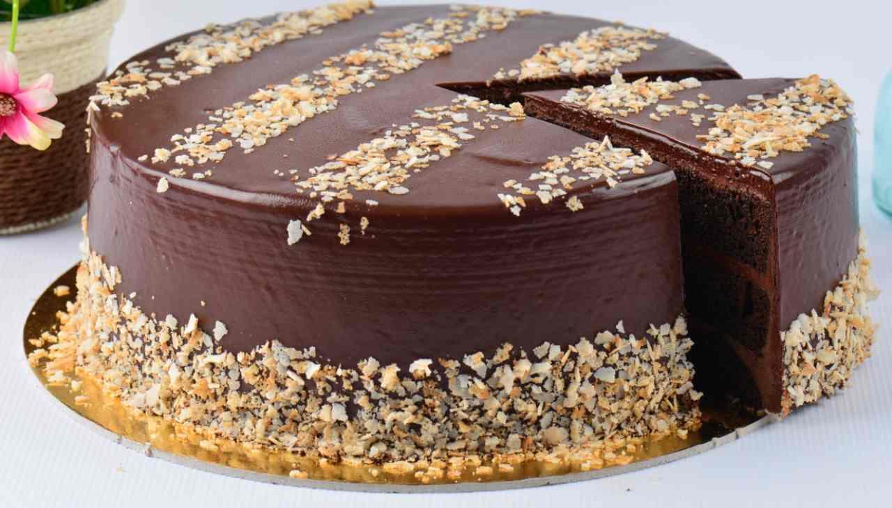Torta Rocher ricetta