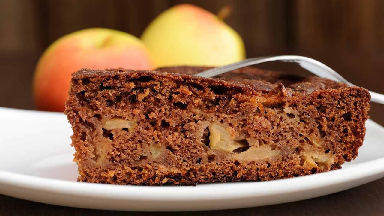 Torta di mele al cioccolato e mascarpone