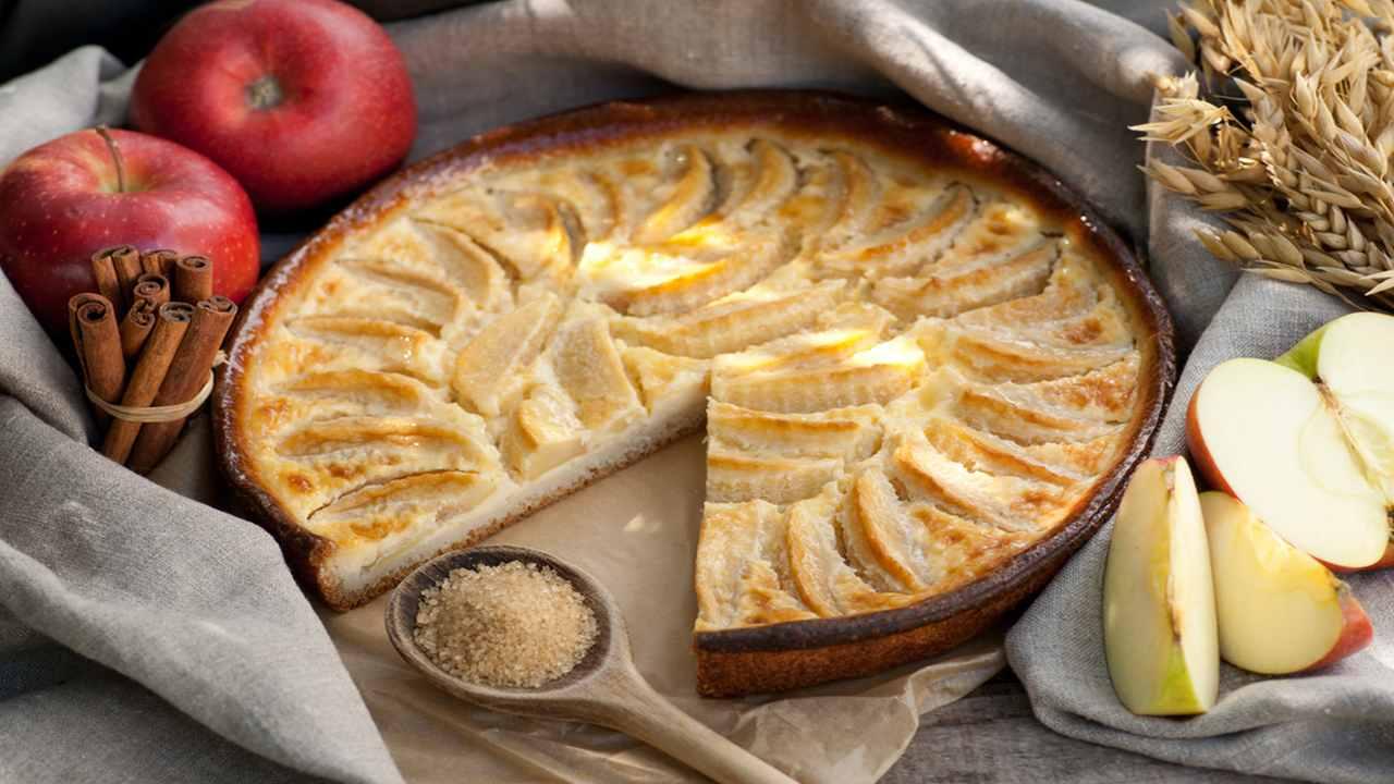 Torta leggera di mele