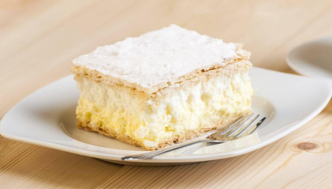 Torta fiocco di neve ricetta