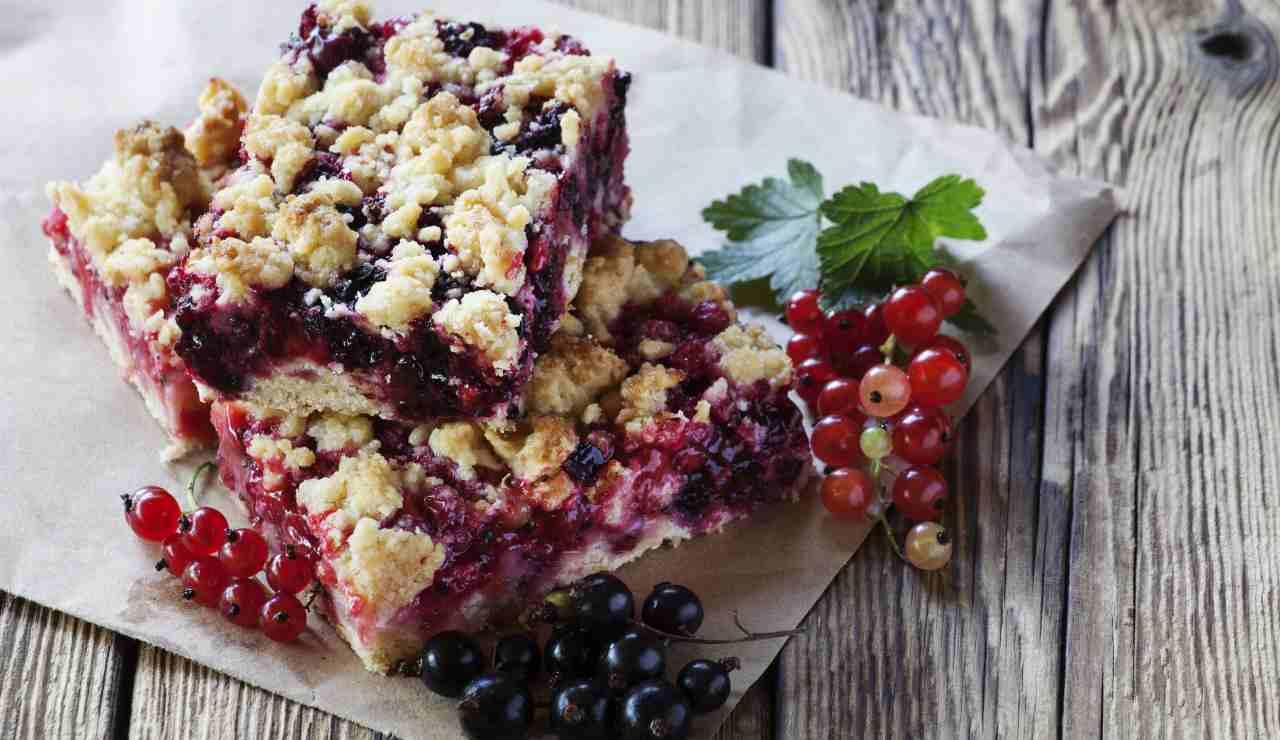 Torta frollata al ribes ricettasprint
