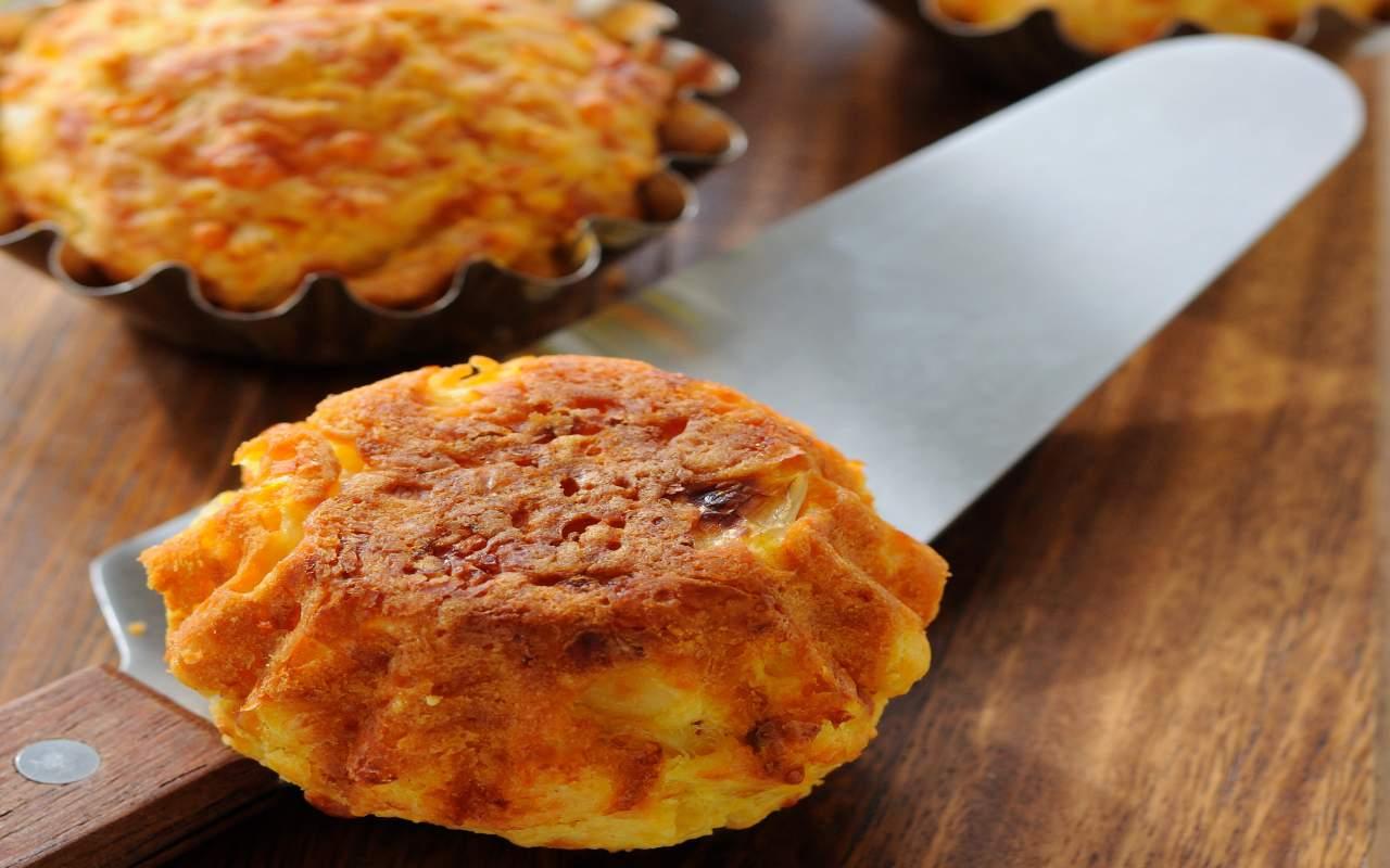 tortini zucca patate ricetta FOTO ricettasprint