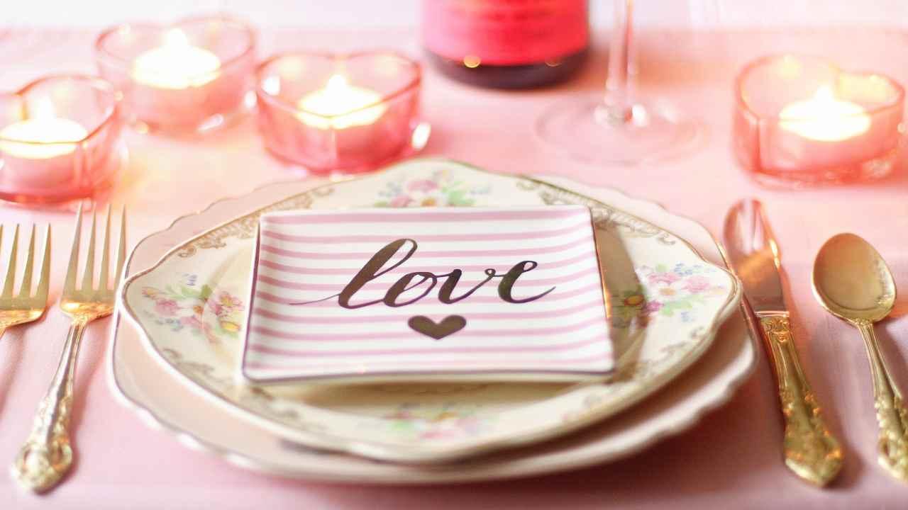 cena di San Valentino consigli