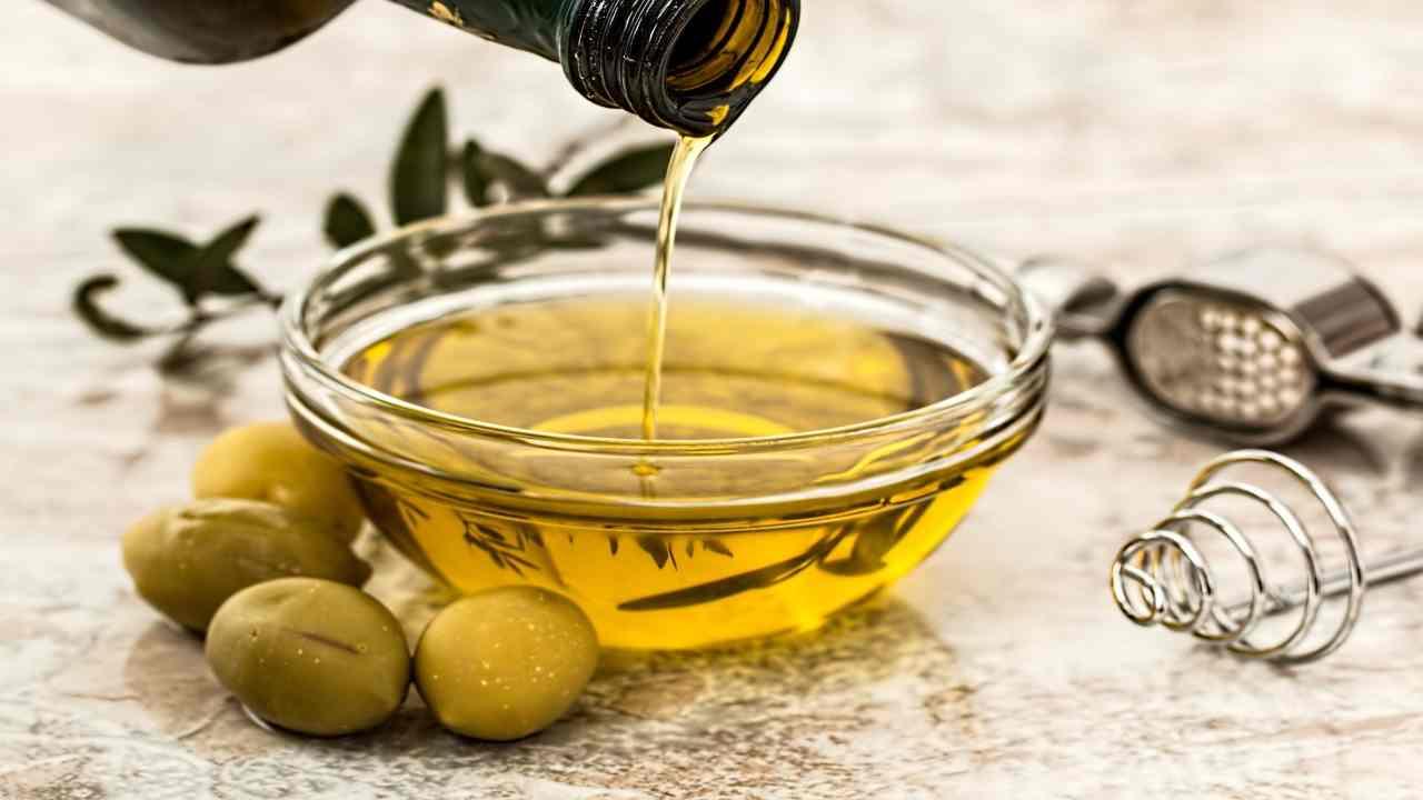 olio d'oliva usi