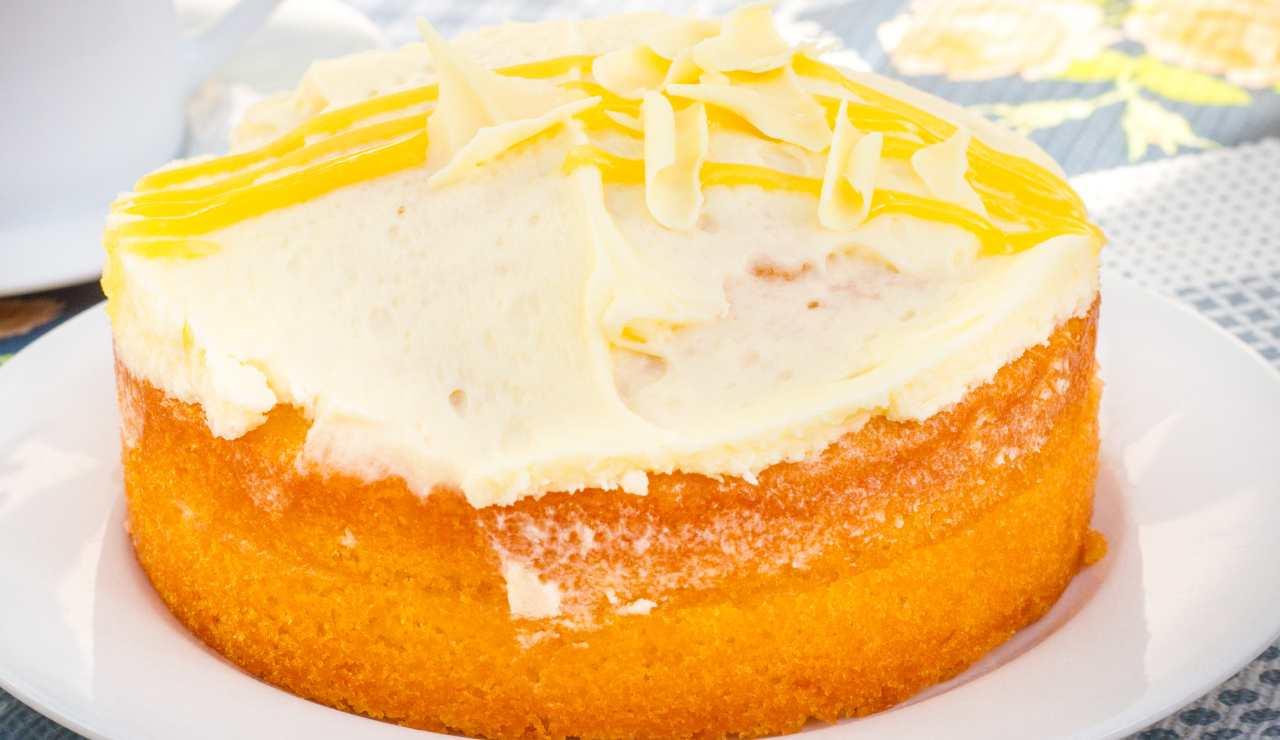 torta limone e cioccolato bianco ricettasprint