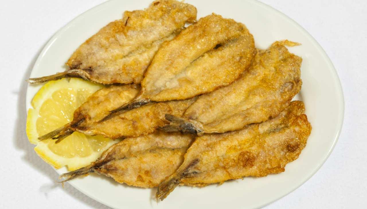 Pesce ripieno impanato e fritto