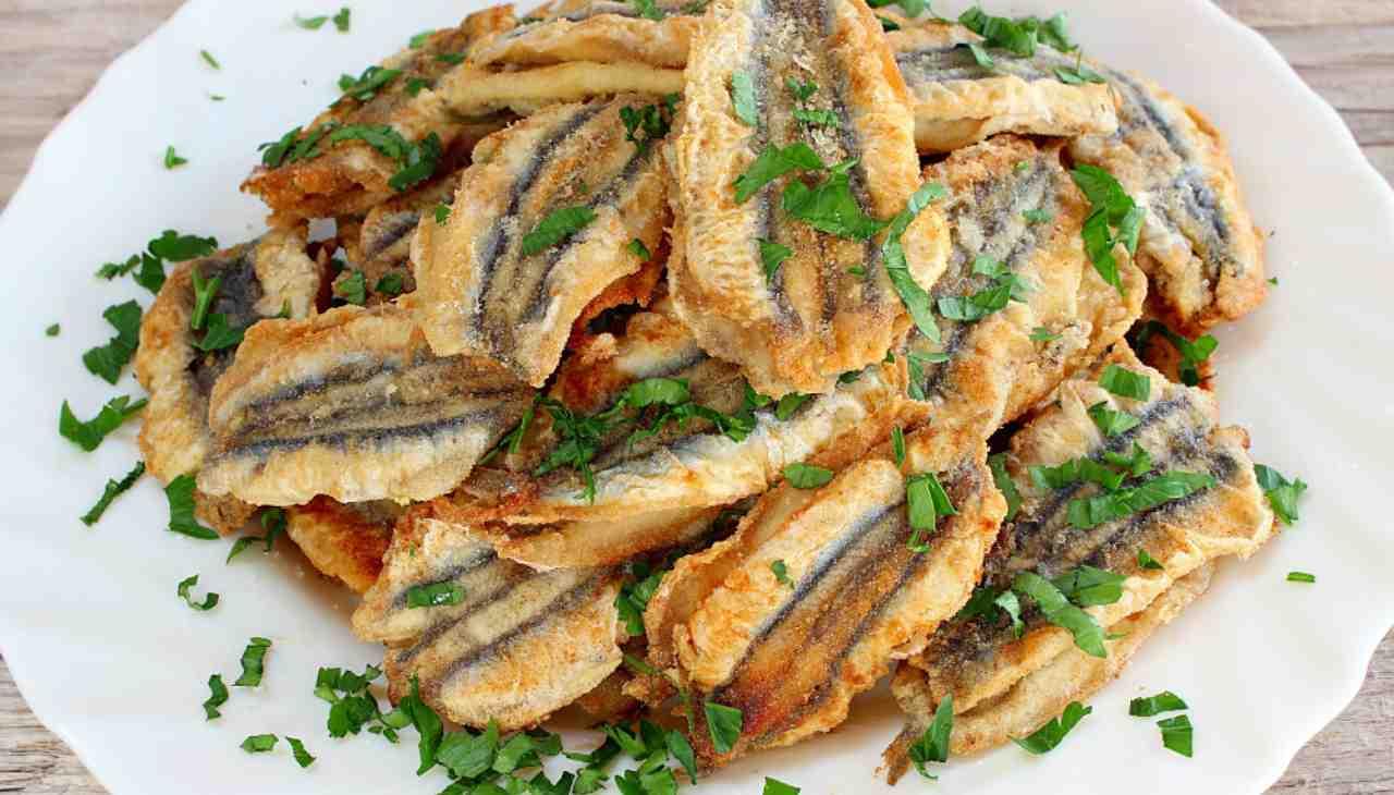 Alici fritte alla pugliese ricetta