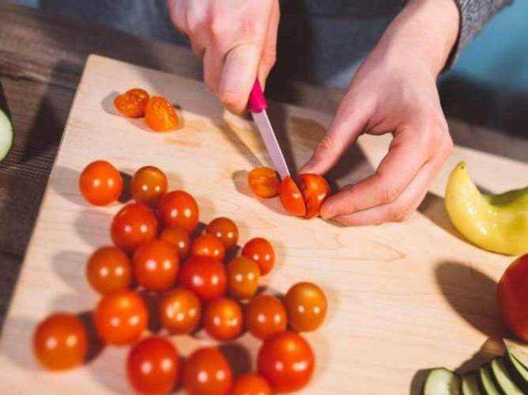 Ciambella pomodorini e tonno FOTO ricettasprint