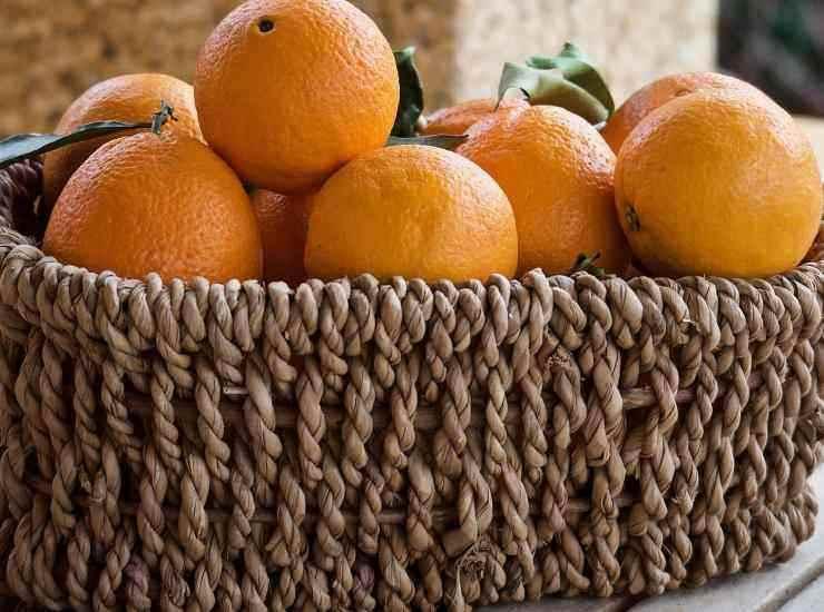 Ciambellone all'arancia ricetta