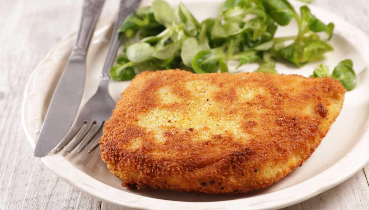 Zucchine farcite impanate e fritte