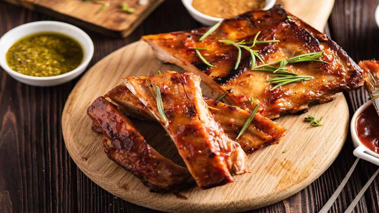 Carne di maiale alla griglia