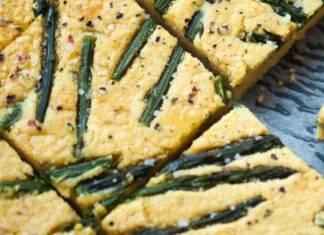 Farinata di ceci e asparagi ricetta