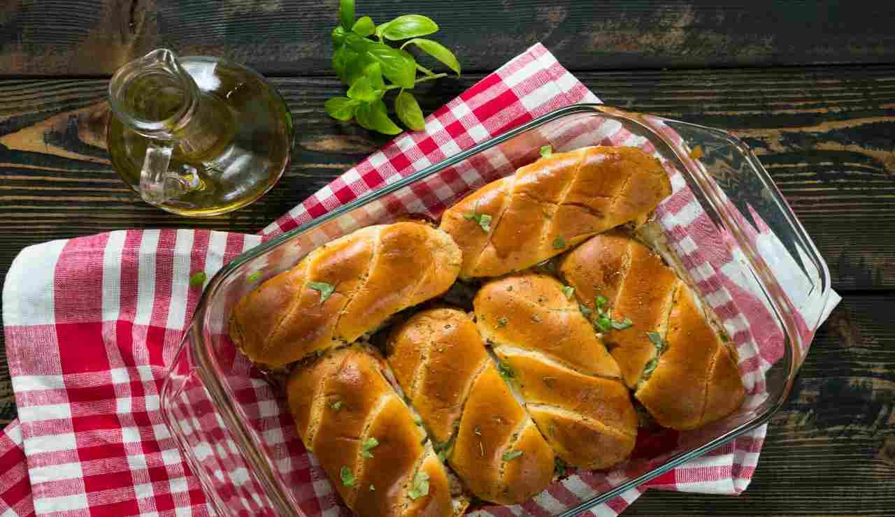Flauti di patate con speck e mozzarella