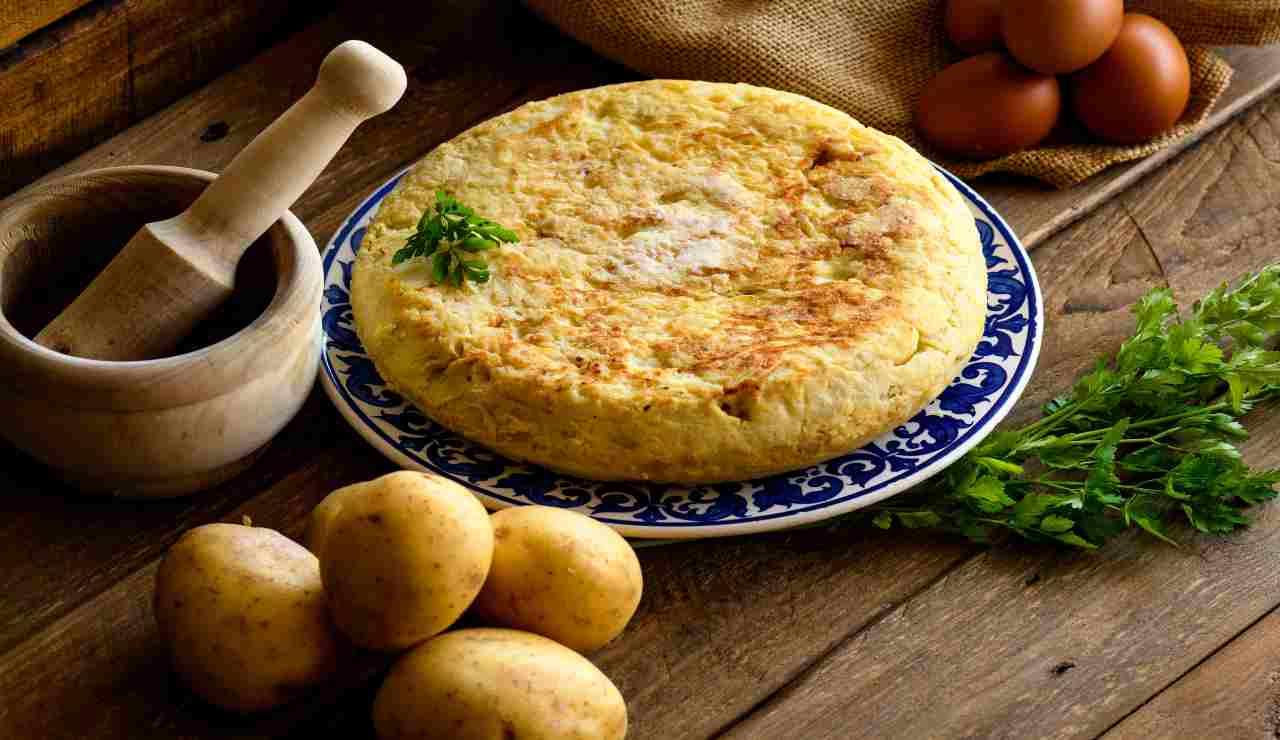 Frittatine veloci di patate e cipolle