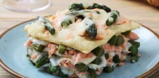 Lasagne pesce e verdura