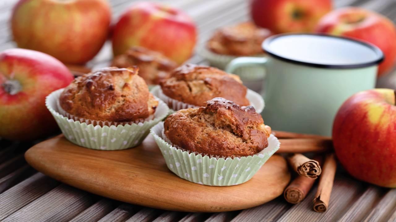 Muffin alla mela
